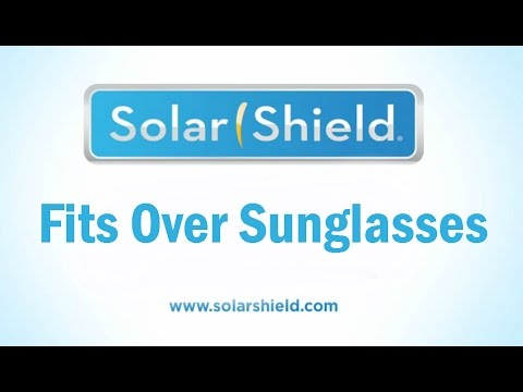 4cc17de408f Fits Over Sunglasses from Solar Shield - YouTube