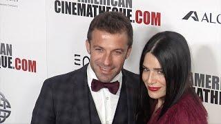 Alessandro Del Piero & Sonia Amoruso 30th Annual American Cinematheque Award Gala Red Carpet