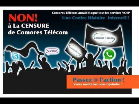 RFI Non aux Censures de COMORES TELECOM