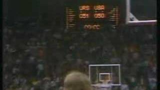 Basketball USSR - USA in Munich, 1972