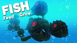 RAISING A DEADLY ROBOT FISH FAMILY! | Feed and Grow Fish