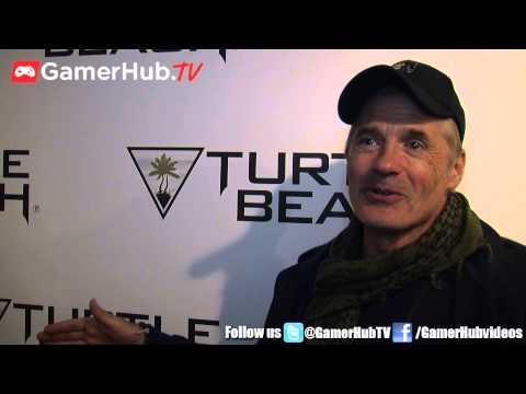 Actor James C Burns Talks Call of Duty Black Ops 3 - Gamerhubtv