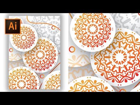 How to Make a Simple Vector Mandala in Adobe Illustrator thumbnail
