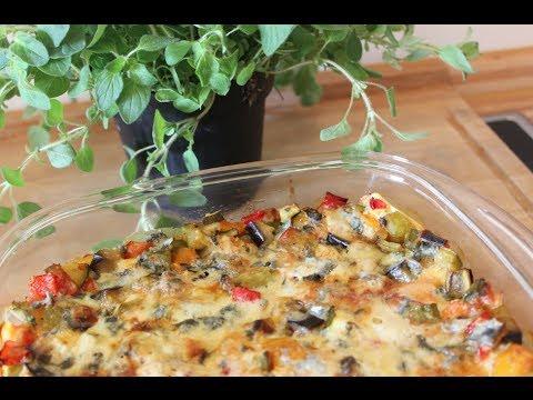 sallys kochwelt vegetarische ratatouille gem se lasagne youtube. Black Bedroom Furniture Sets. Home Design Ideas