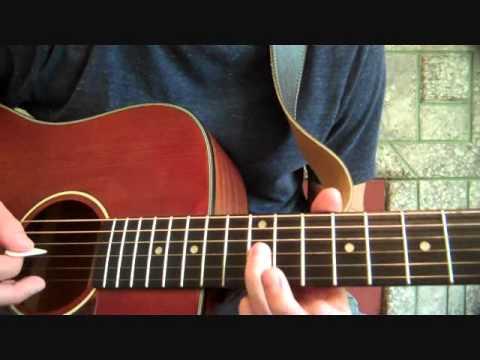 Let Me In - Grouplove: Guitar Tutorial Part 2/2
