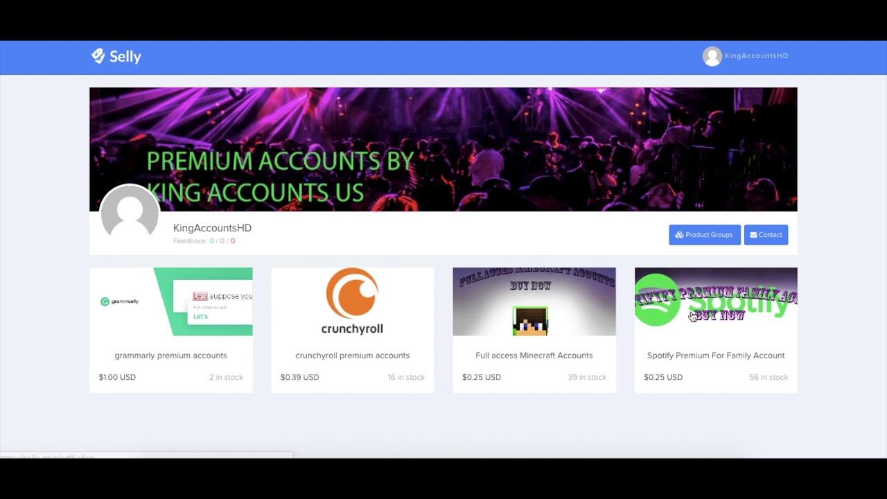 shoppy gg Shop Open!! Best Cheap Premium Accounts(Trusted Seller)🔥🔥🔥
