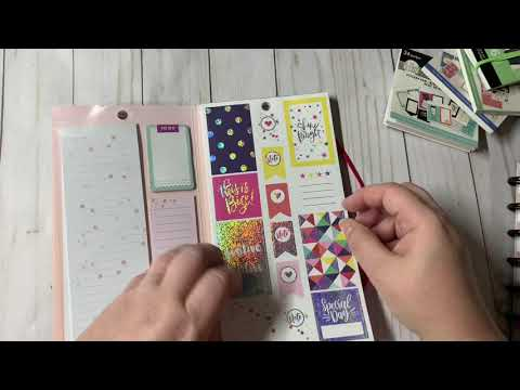 Hobby Lobby Happy Planner Sticker Haul