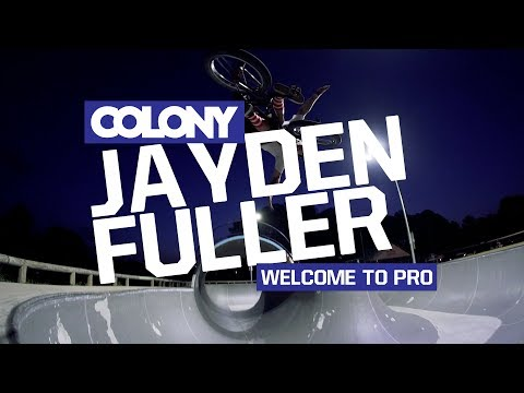Jayden has been riding for Colony for a few years now and today we are very hyped to announce giving him the bump up to Pro. If you've ever met Jayden you would agree that not to many people...