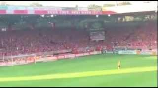 Union Berlin - RB Leipzig (28.08.2015) Eisern Union Wechselgesang