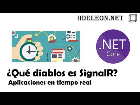 ¿Qué Diablos Es SignalR? | Aplicaciones En Tiempo Real En .Net Core