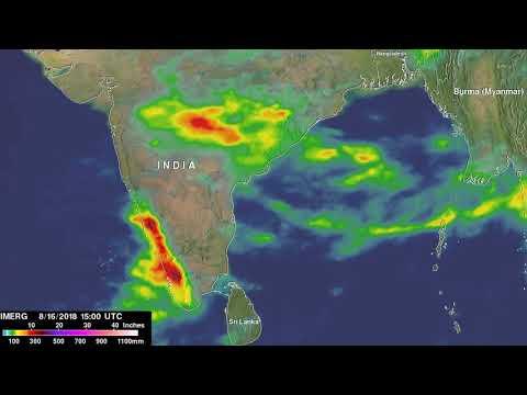 IMERG Calculates Monsoon Rainfall Over India