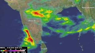 IMERG Calculates Monsoon Rainfall Over India