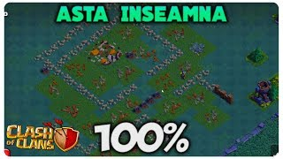 100% INCLUSIV ZIDURI | CLASH OF CLANS ROMANIA