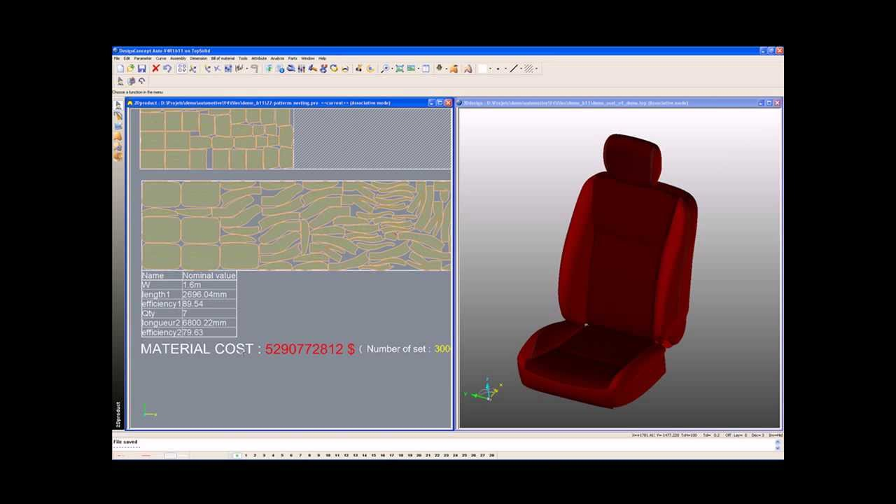Lectra Designconcept Auto 3d To 2d Design Software For Automotive