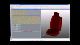 Lectra Designconcept Auto - 3d To 2d Design Software For Automotive Seats And Interiors