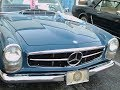 1965 Mercedes Benz 230SL Convertible Blu OT 020715