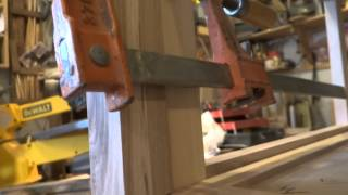 Woodworking Chest Of Drawers Part 4 Mortise Jig Cutouts Stiles Shown