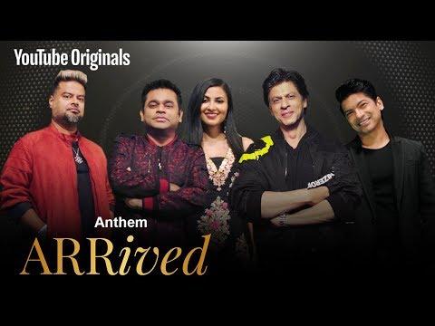 ARRived | Anthem | A. R. Rahman, Shah Rukh Khan, Clinton Cerejo, Shaan, Vidya Vox