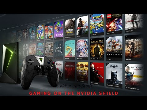 GAMING ON THE NVIDIA SHIELD