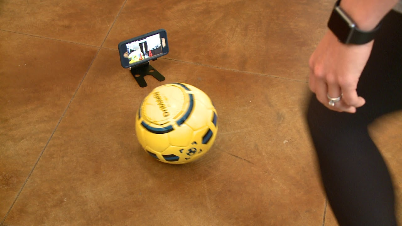 d10a1f53c Does It Work: The DribbleUp Smart Soccer Ball - YouTube
