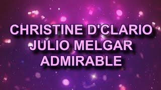 Christine D'Clario Ft Julio Melgar Admirable Pista Karaoke