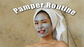 MY AT HOME PAMPER ROUTINE