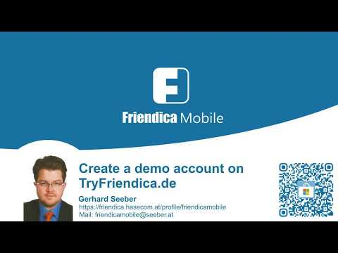 Introduction to Friendica. Demo Account.