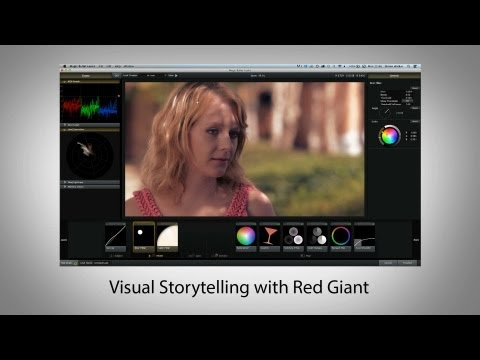Visual Storytelling with Red Giant