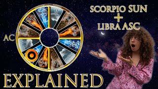 ☉ Sun in Scorpio + Libra Asc (rising sign) HD