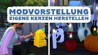 Kerzenherstellung für Die Sims 4 | Modvorstellung | sims-blog.de