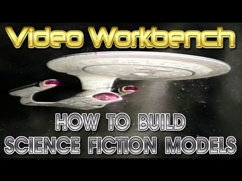 How to Build Science Fiction Plastic Model Kits | Video Workbench
