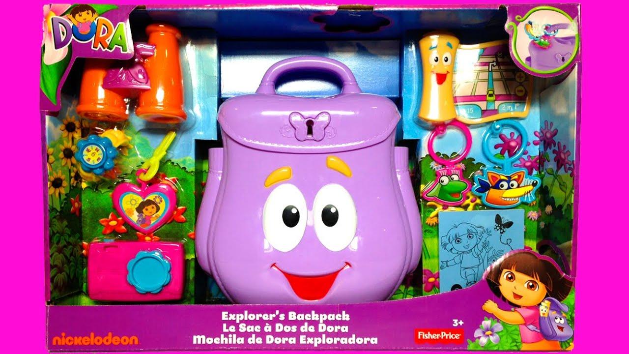 All Dora Toys : Dora s backpack the explorer mochila de