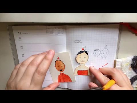 xmas card 2016 | drawing in hyperlapse | Sonia Jan Leung