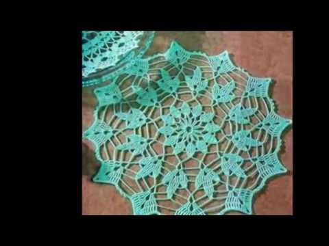 Easy Crochet Stitches Youtube : CROCHET DOILY PATTERNS - YouTube