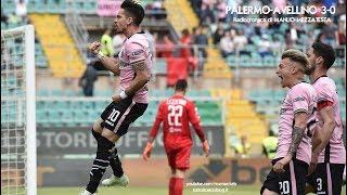Palermo-Avellino 3-0 - Radiocronaca di Manlio Mezzatesta (21/4/2018) da Rai Radio 1