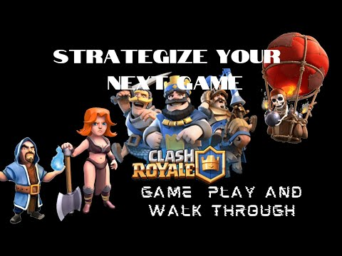 Clash Royale Gameplay 2020   iOS Games   Best Deck and Strategies for Beginners