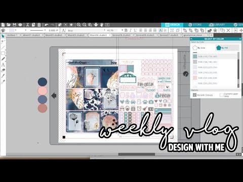 Weekly Vlog | Design With Me + Bernie Rally + Random Kit Pull