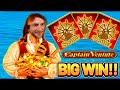 Captain's Casino Full House of Queens - YouTube