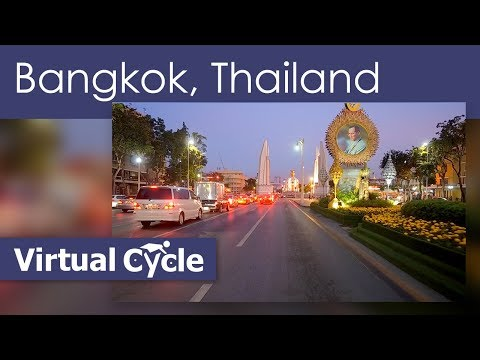 25 Min Treadmill Music Video Mix Of Bangkok at Night Thailand  with Work  Out Music Mega Mix