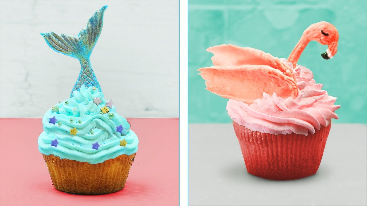 15 Cute Cupcake Decorating Design Ideas For Party Youtube