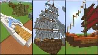 7 Креативных Идей для постройки Кораблей в Minecraft №1