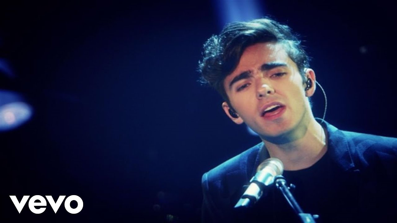 Nathan Sykes Over And Over Again Album Cover