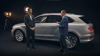 A megújult Bentley Bentayga bemutatója