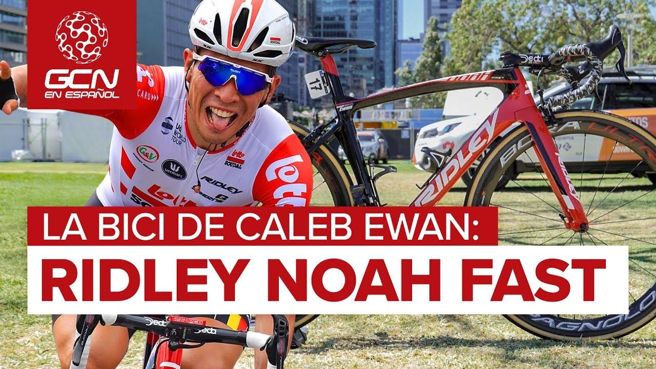 La Ridley Noah Fast Aero Race Bike De Caleb Ewan - YouTube 810cdd3ab