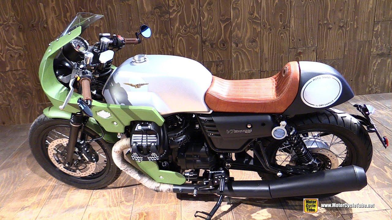 2017 Moto Guzzi V7 Iii Stone Customized By Omt Garage