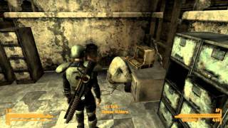 Fallout New Vegas Veronica side quest I could Make you care Pulse Gun / All American part 1