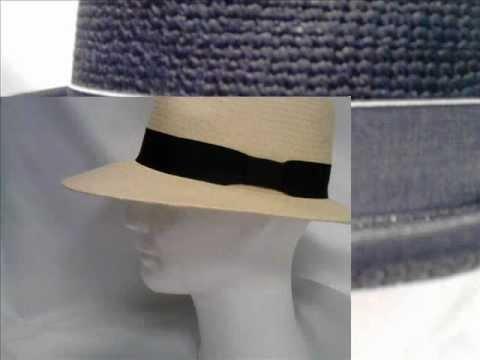 Witting ® handmade PANAMA hoed hat hut sombrero chapeau - YouTube b61e88b37ab