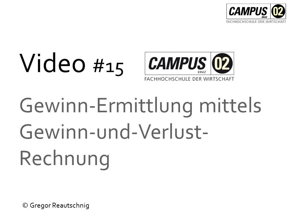 Video 15 Gewinnermittlung mittels GuV - YouTube