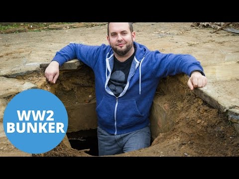 Man Finds Complete WW2 Air Raid Shelter Beneath His Luton Driveway