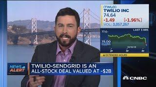 Twilio to buy e-mail marketing platform SendGrid in $2B deal